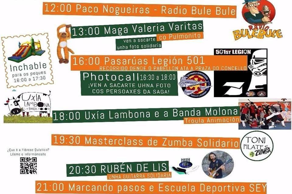 Actividades gratuitas en Baiona por el día de la Fibrosis Quística