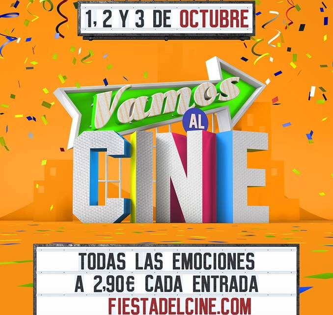 En Octubre vuelve la Fiesta del Cine