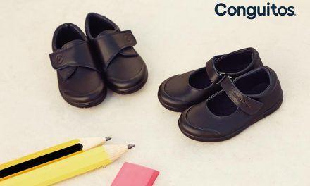 Vuelta al cole con los zapatos colegiales lavables Conguitos