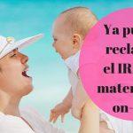 Abierto el plazo para la reclamación de la prestación de maternidad y paternidad del 2016 y 2017