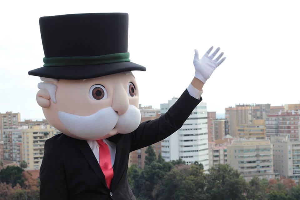 Mr Monopoly se viene de puente a Galicia