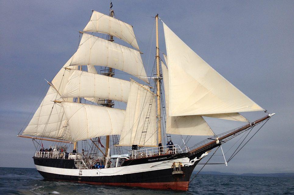 Jornada de puertas abiertas del buque escuela Pelican of London