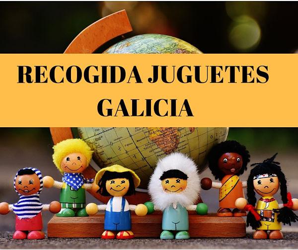 Puntos de Recogida de juguetes en Galicia