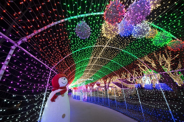 El encendido de luces de Navidad llega a la provincia de Pontevedra