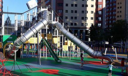 Nuevos macroparques infantiles en Vigo