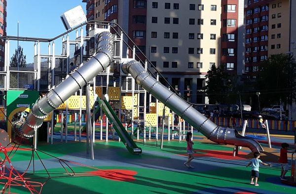 Apertura de los parques infantiles en Vigo