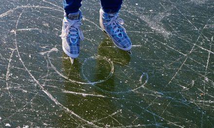 Patinar sobre hielo gratis es posible