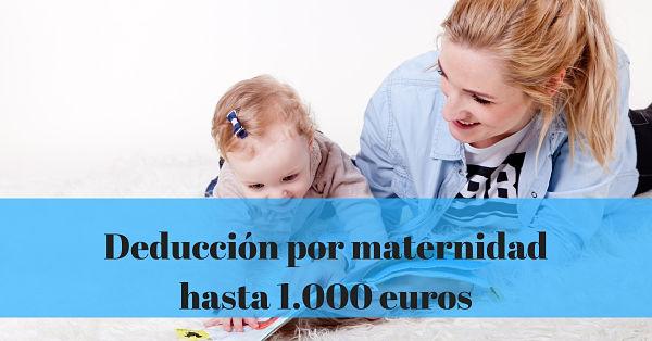 Nueva deducción por guardería para madres trabajadoras