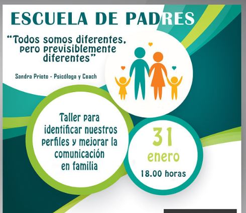 Taller gratuito para padres impartido por la coach Sandra Prieto