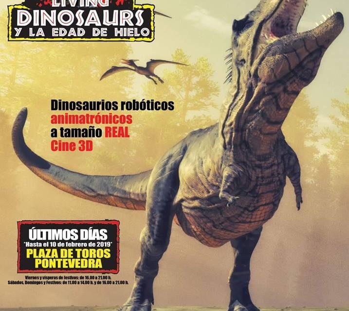 Living Dinosaurs: último fin de semana con precio reducido