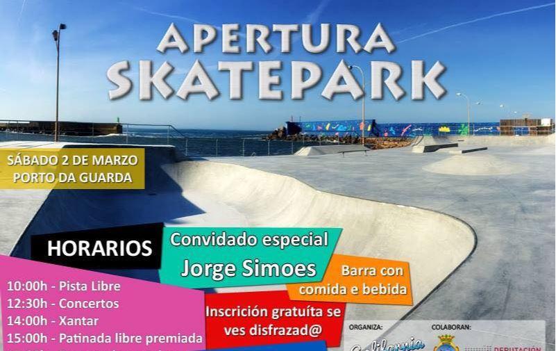 Apertura Skate Park en A Guarda