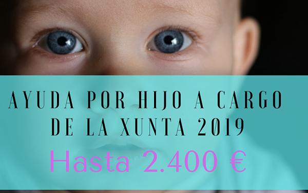 🥇 Ayuda por hijo a cargo de la Xunta 2019