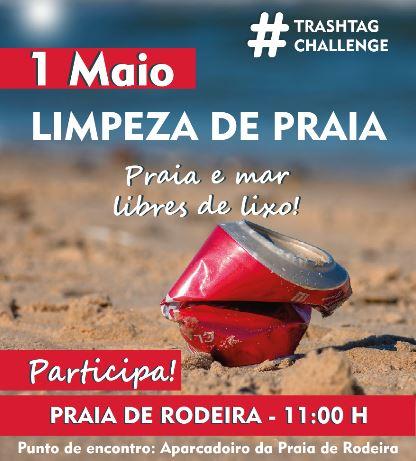 #TrashtagChallenge el reto viral en familia mañana en Cangas