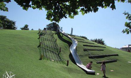 Parque de Eiris: 🥇el mejor parque infantil de A Coruña