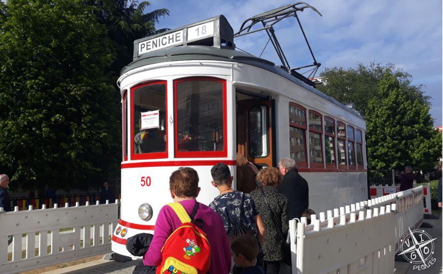 El tranvía de Vigo ya se puede visitar