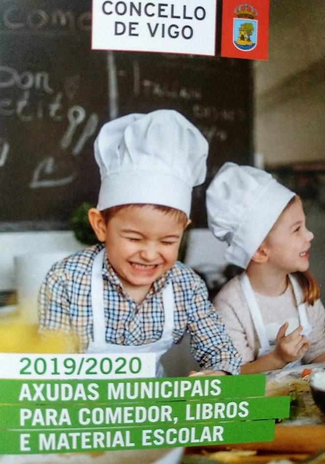 Ayudas comedor y material escolar del Concello de Vigo 2019 ...