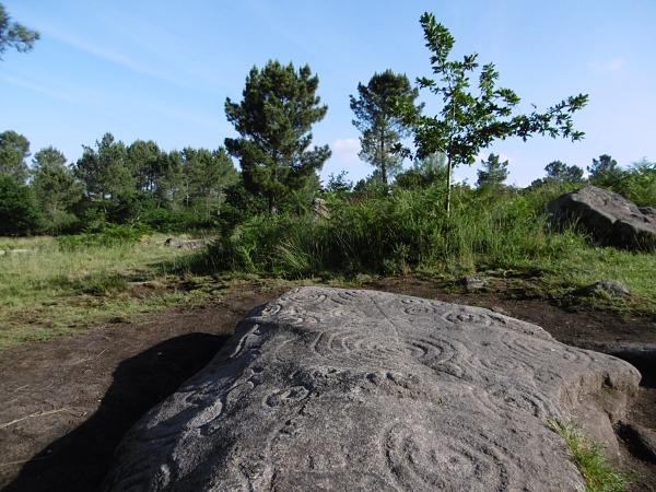 Parque arqueológico rupestre de Campo Lameiro