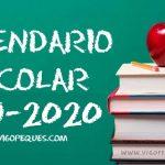 磊 Calendario escolar de Galicia 2019-2020