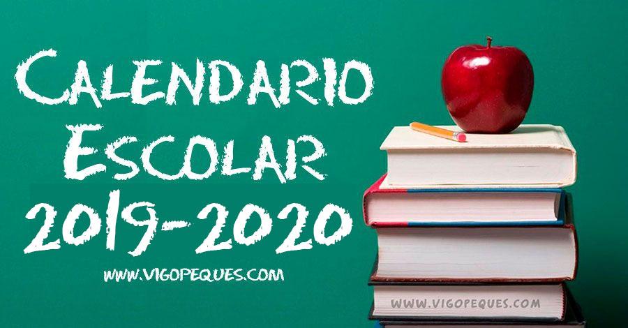Calendario Escolar De Galicia 2019 2020 Vigopeques