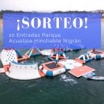 ¡Nuevo sorteo!: 10 entradas para el parque acuático hinchable de Nigrán