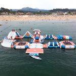 Parque Acuático hinchables Playa América