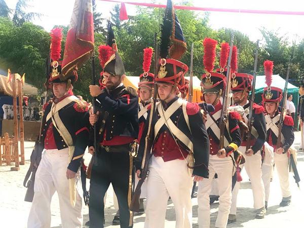 La fortaleza de Valença revive la invasión francesa