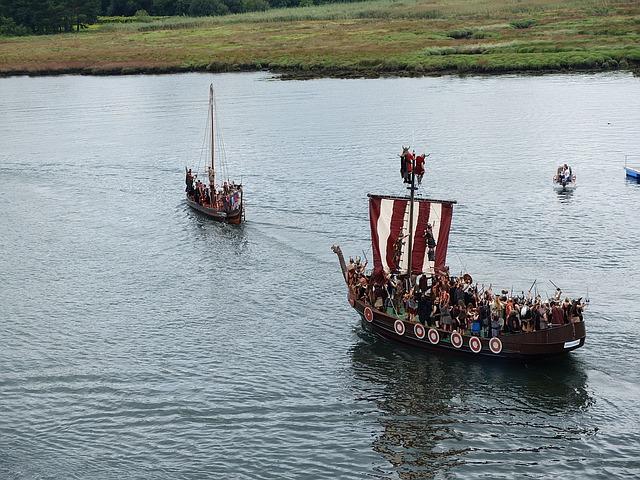 Fiesta vikinga de Catoira 2019