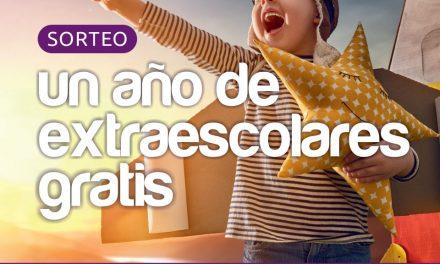 NUEVO SORTEO: Un año de extraescolares gratis!