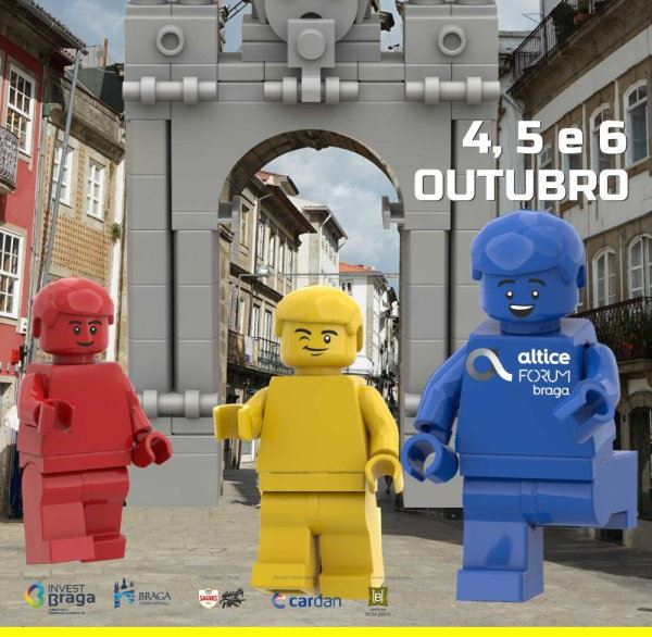 Braga Brick Fan: la mayor exposicion de Lego regresa a Portugal