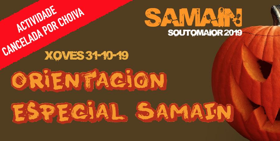 Pruebas de Orientación Samain y fiesta infantil