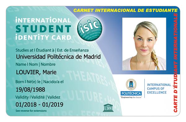 Ventajas del Carnet Internacional de estudiante o docente