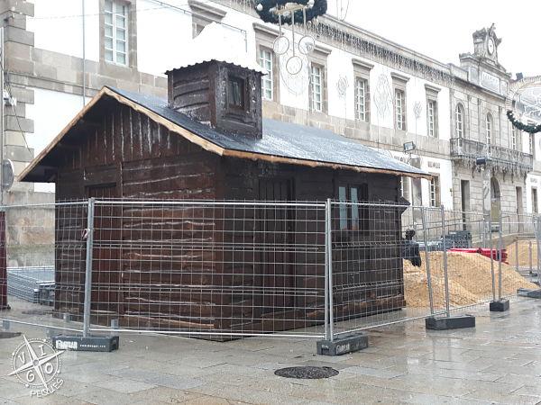 Casetas de Papá Noel en la Navidad en Vigo 2019