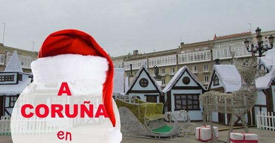 A Coruña inaugura su alumbrado y actividades de Navidad