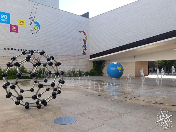 Pabellón del conocimiento en Lisboa