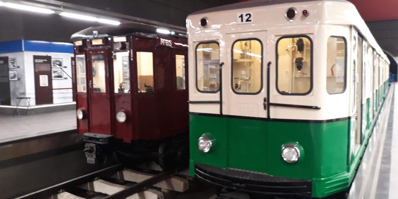 Exposición de trenes clásicos en Madrid. Visitas teatralizadas en Navidad