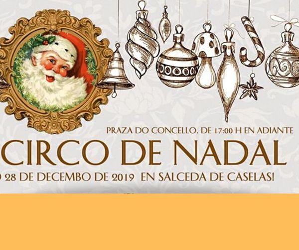 Pequeno Circo de Nadal en Salceda de Caselas