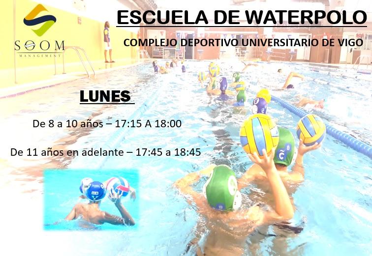 Nueva escuela deportiva de Waterpolo en Vigo