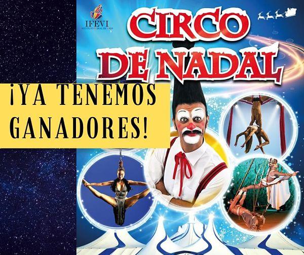 Nuevo sorteo: 10 entradas para el Circo de Nadal