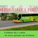 Nuevo Sorteo: 4 billetes para viajar a Europa