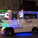 El tren turístico de Navidad comienza su andadura