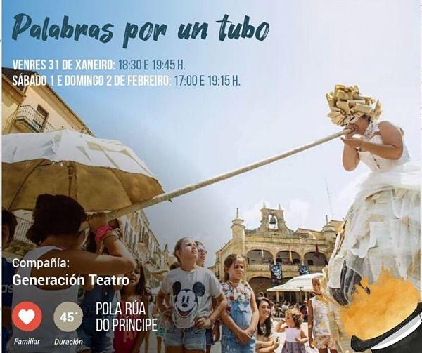 Vigocultura 2020: programación teatro infantil