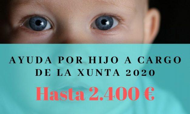 Ayuda por hijo a cargo de la Xunta 2020