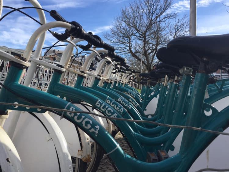 BUGA, Bicicleta de Utilización Gratuita de Aveiro