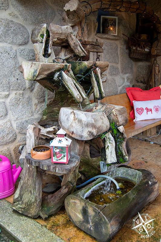 Fuente de madera, Lar de Morar