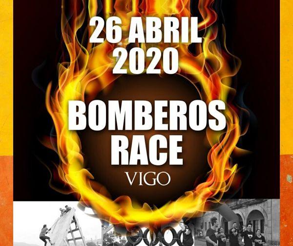 Bomberos Race Vigo: carrera de obstáculos para todos los públicos