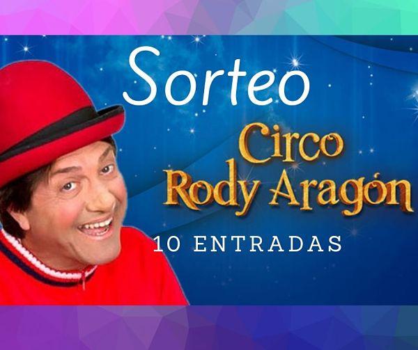 Circo de Rody Aragon en Vigo: Sorteo!