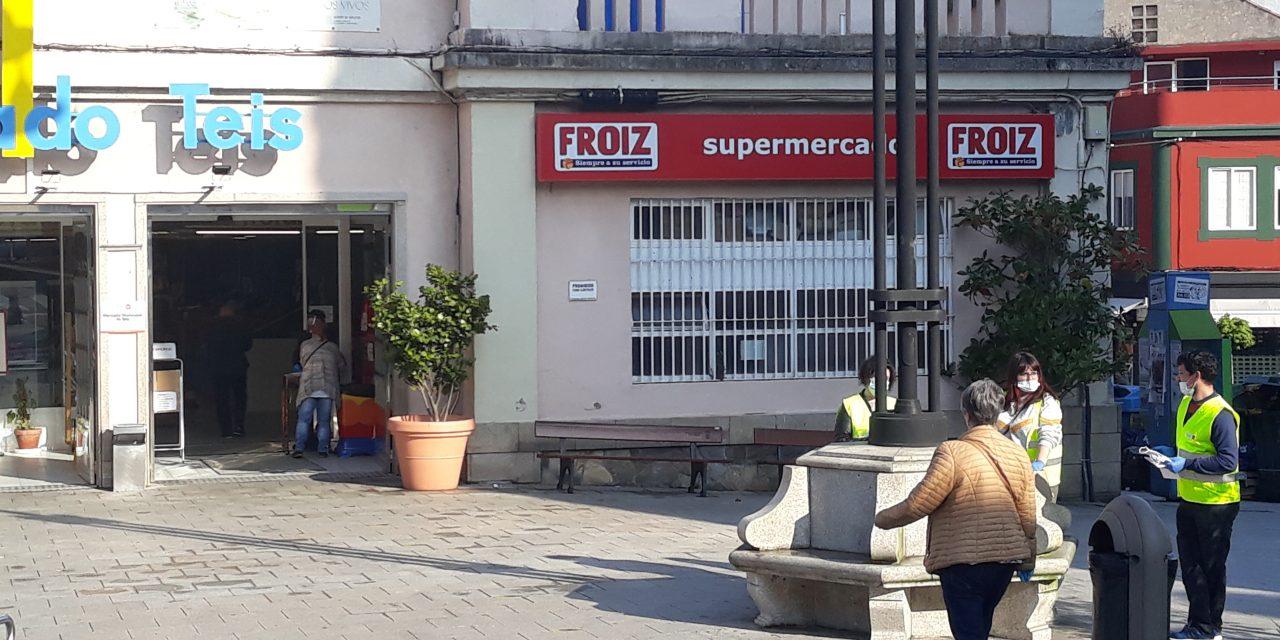 Comienza el reparto de mascarillas en Vigo