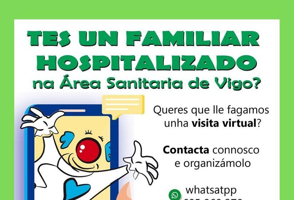 La Asociación Galiclown se conecta con los niños hospitalizados