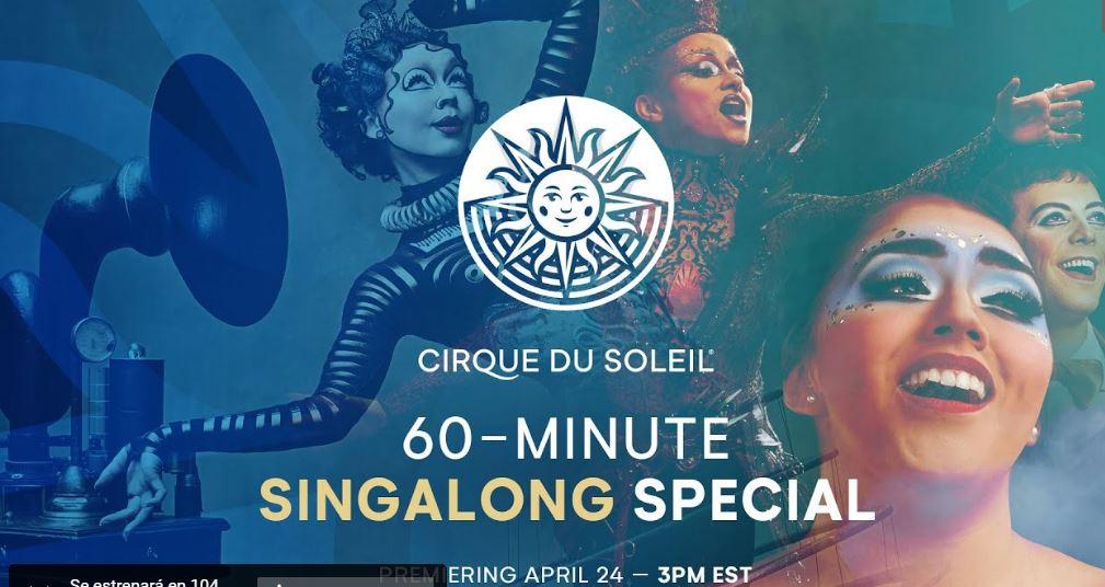 Circo de Sol se estrena con un espectáculo Sing Along