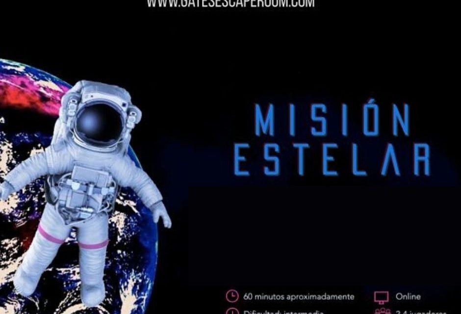 Escape Room solidario y gratuito: Mision Estelar
